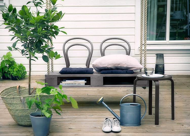 Pallet garden furniture3