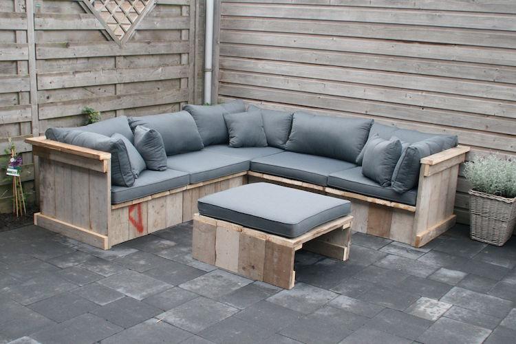 Pallet garden furniture8