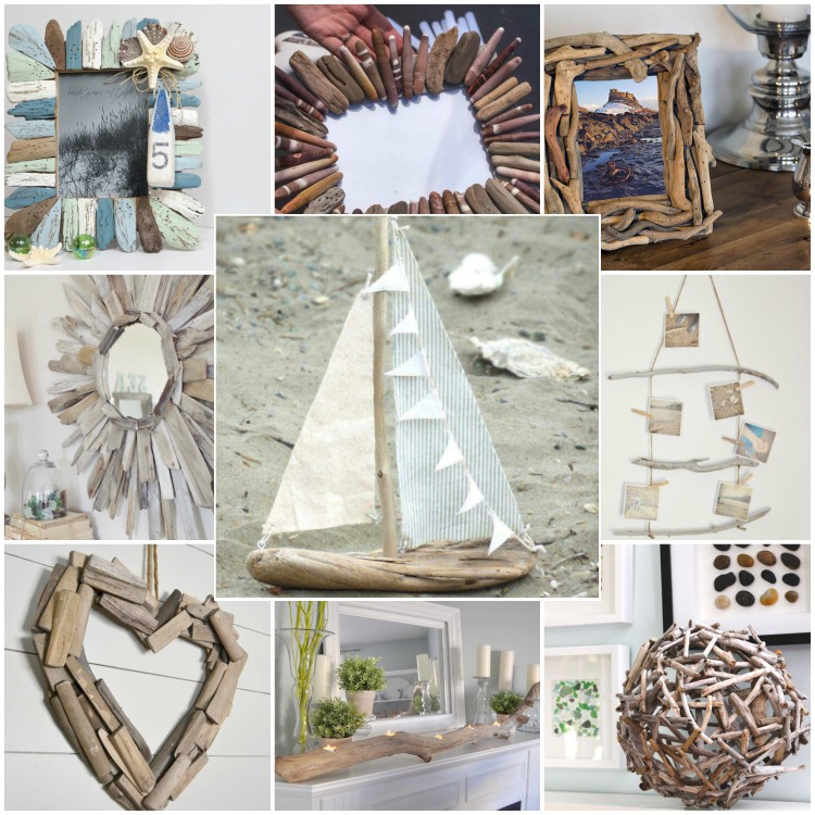 diy decorating ideas from driftwood