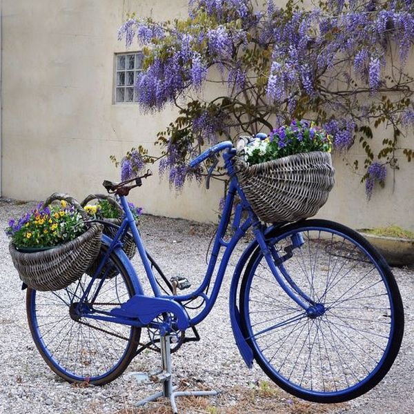 garden decorations from old bicycles15