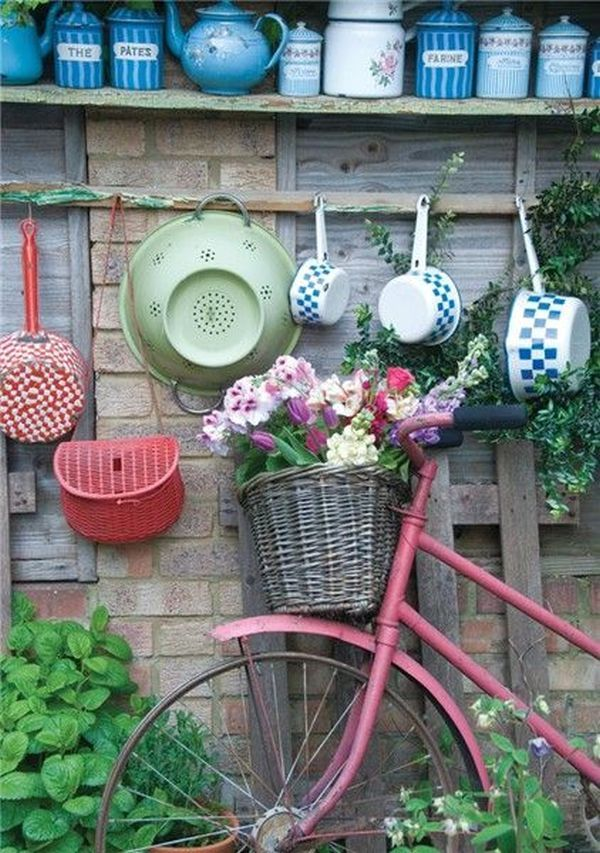garden decorations from old bicycles4
