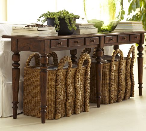 Baskets to organize and decorate10