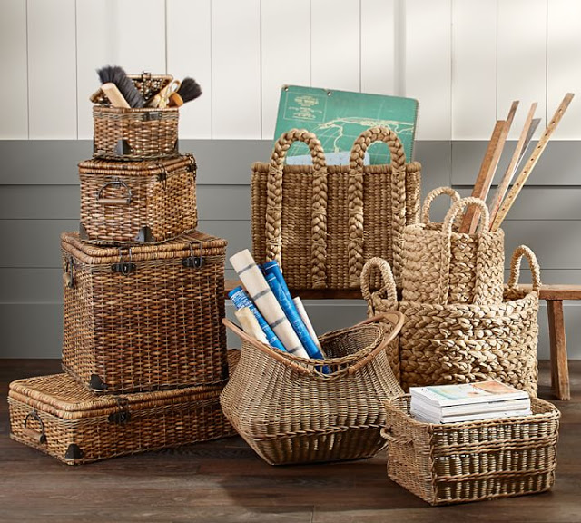Baskets to organize and decorate28