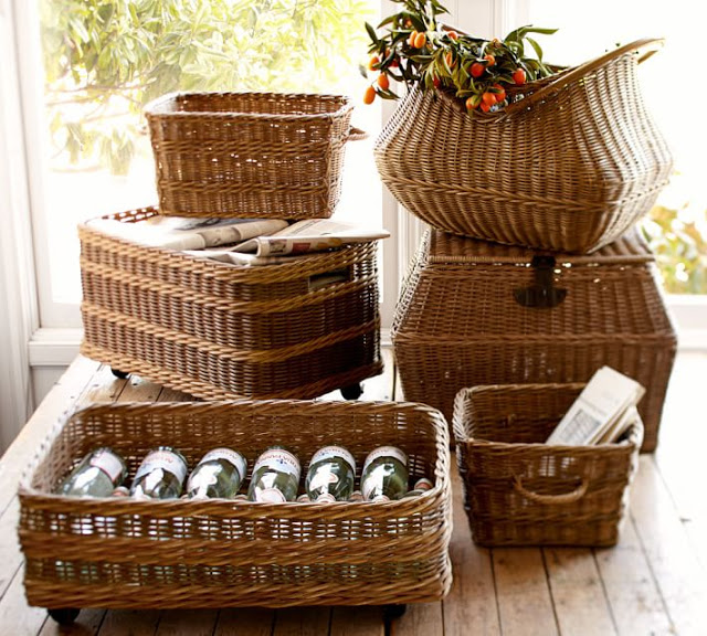 Baskets to organize and decorate30