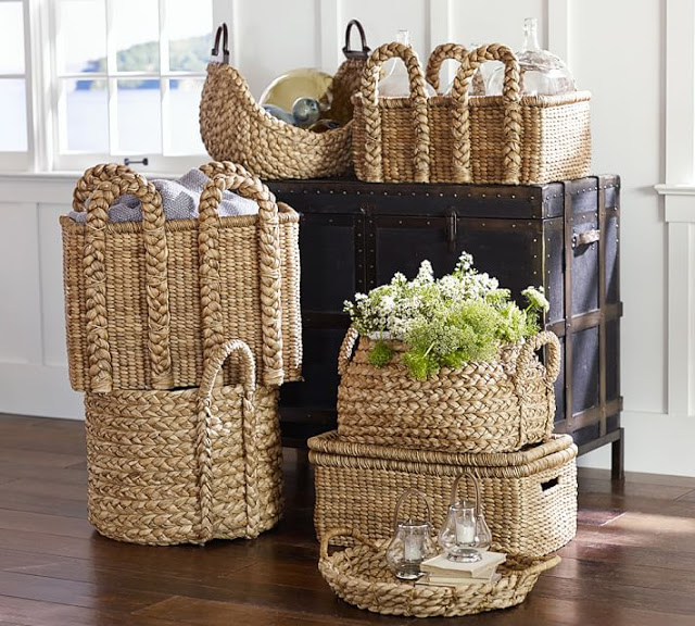 Baskets to organize and decorate32