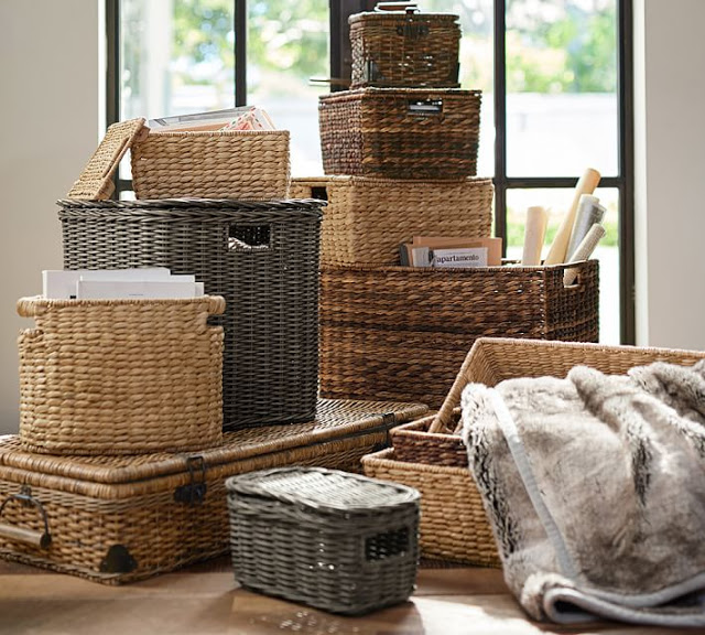 Baskets to organize and decorate35