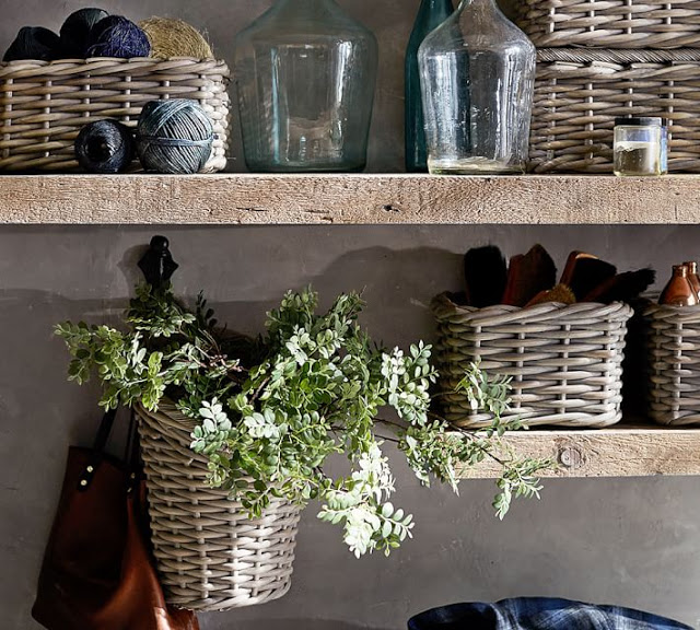 Baskets to organize and decorate38