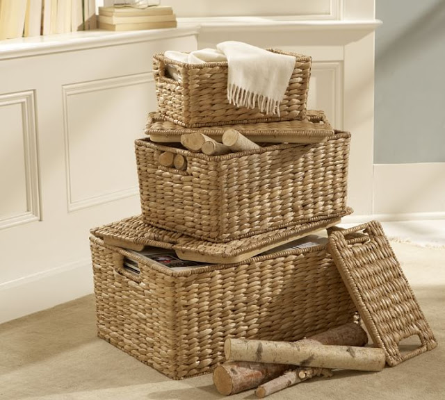 Baskets to organize and decorate44