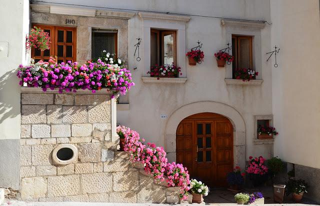 Flower balconies and windows18