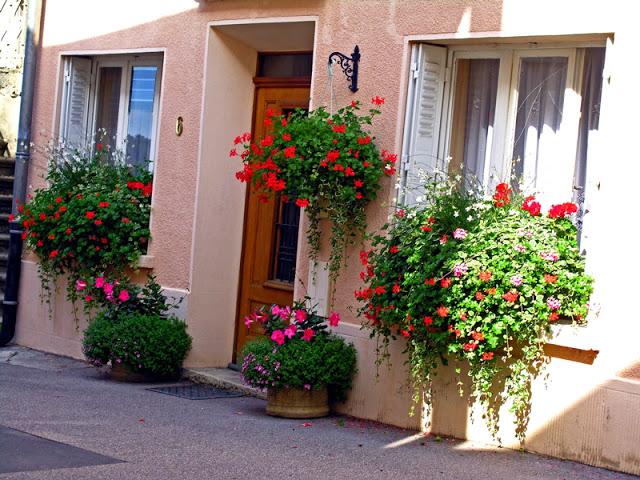 Flower balconies and windows6