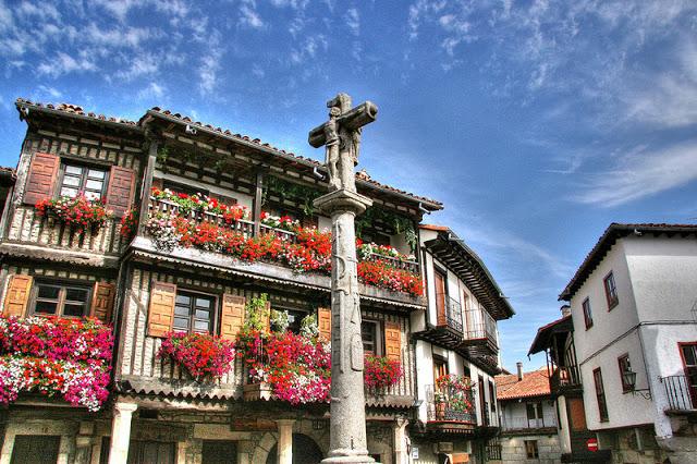 Flower balconies and windows9