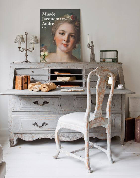 French country style country home offices (12)