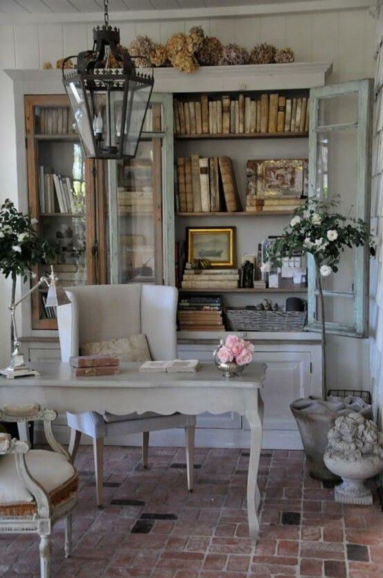 French country style country home offices (7)