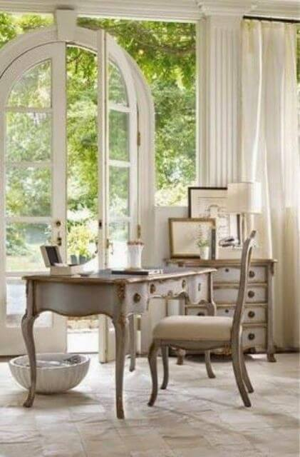 French country style country home offices (9)