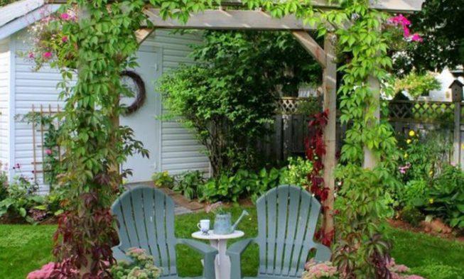 Garden with pergola design 50 ideas for your summery garden design - Garden With Pergola 50 Ideas For Your Summery Garden