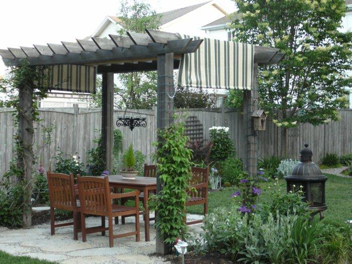 Garden with pergola14