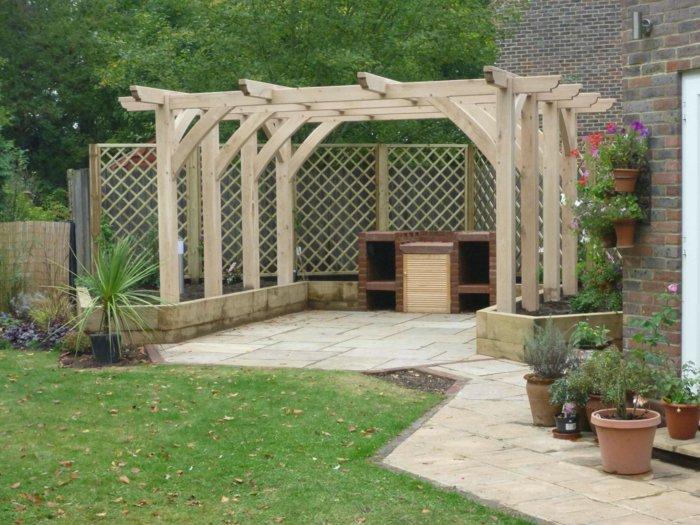 Garden with pergola17