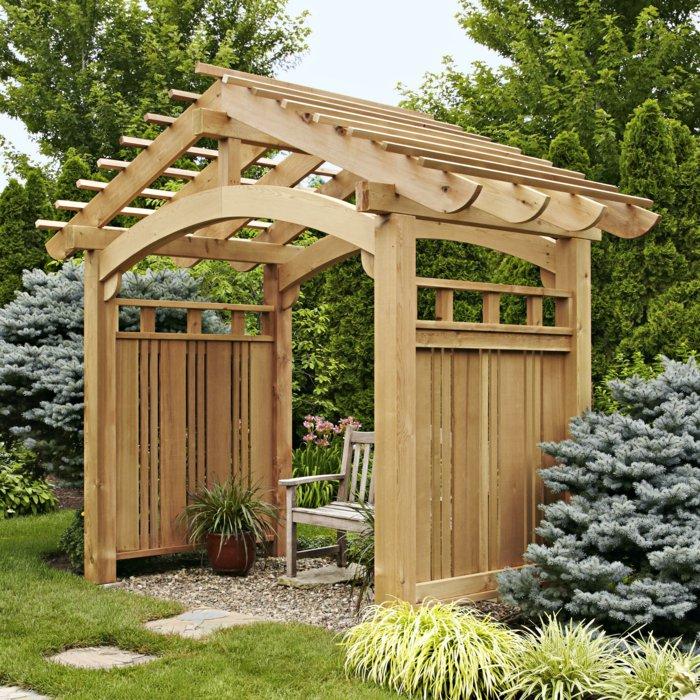 Garden with pergola19