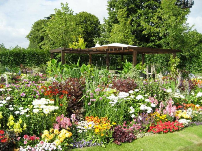 Garden with pergola20