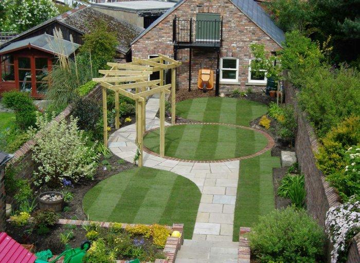 Garden with pergola21