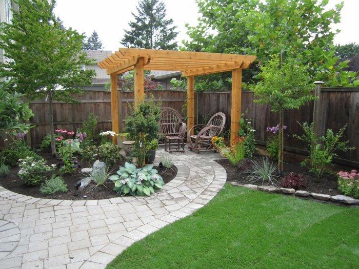 Garden with pergola37