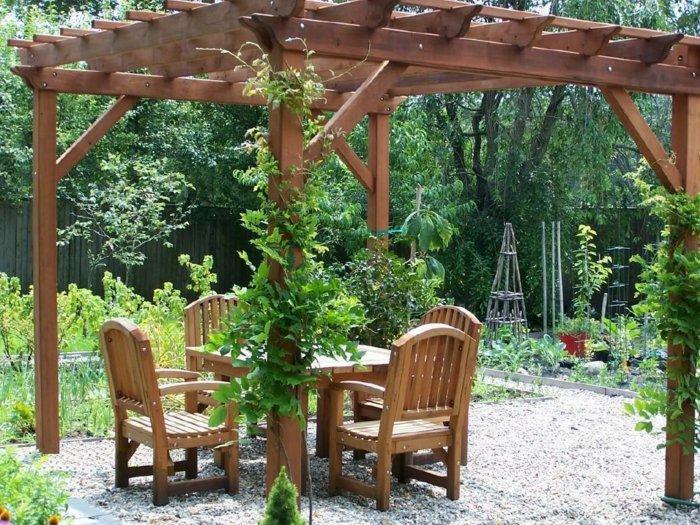 Garden with pergola43