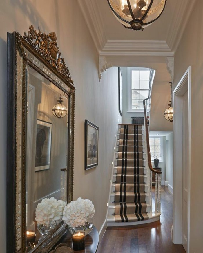 95 home entry hall ideas for a first impressive impression for Interior decoration for hall