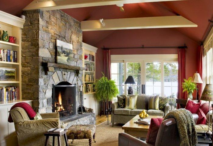 Rustic lounge ideas18