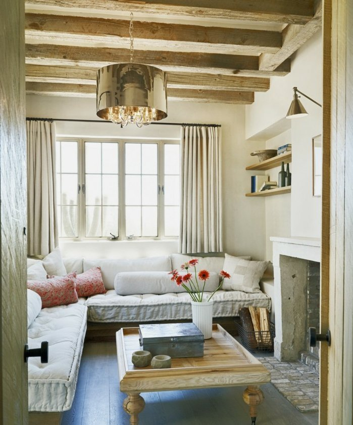 Rustic lounge ideas21