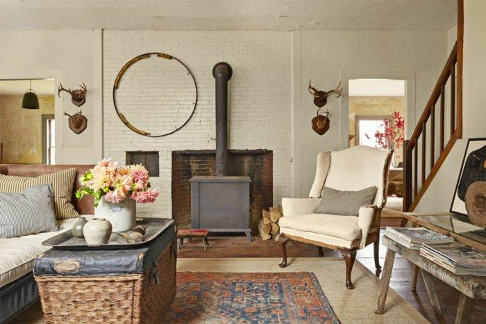 Rustic lounge ideas22