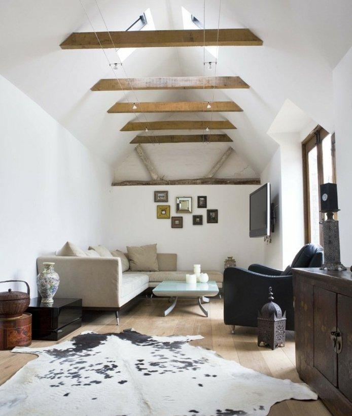 Rustic lounge ideas24