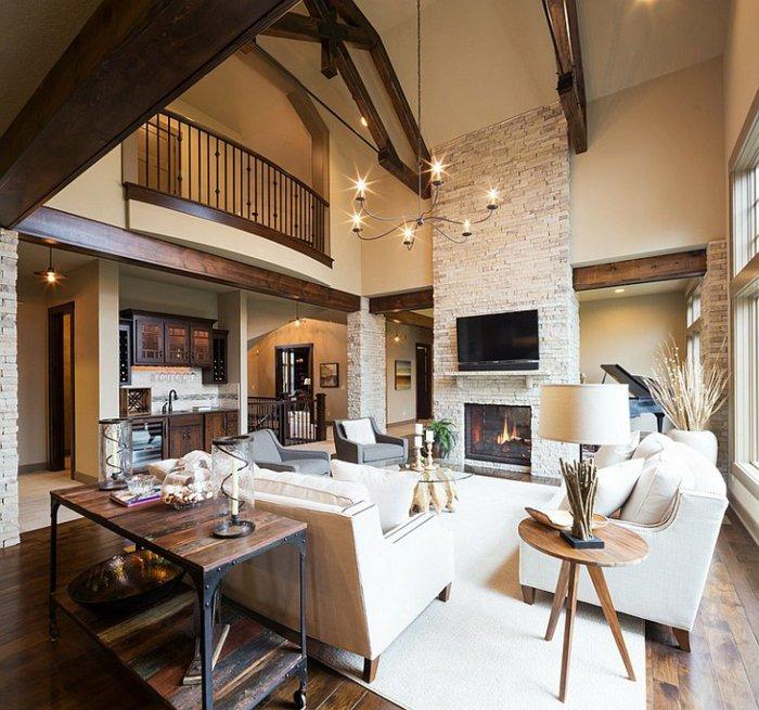 Rustic lounge ideas29