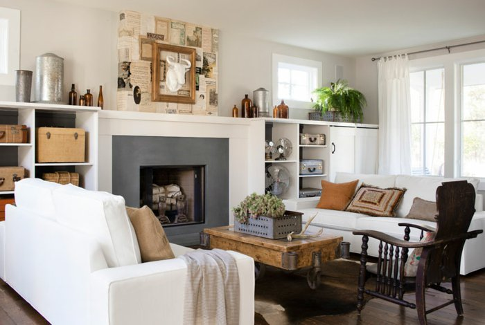 Rustic Lounge Tips And 80 Photos To Create A Cozy Nest