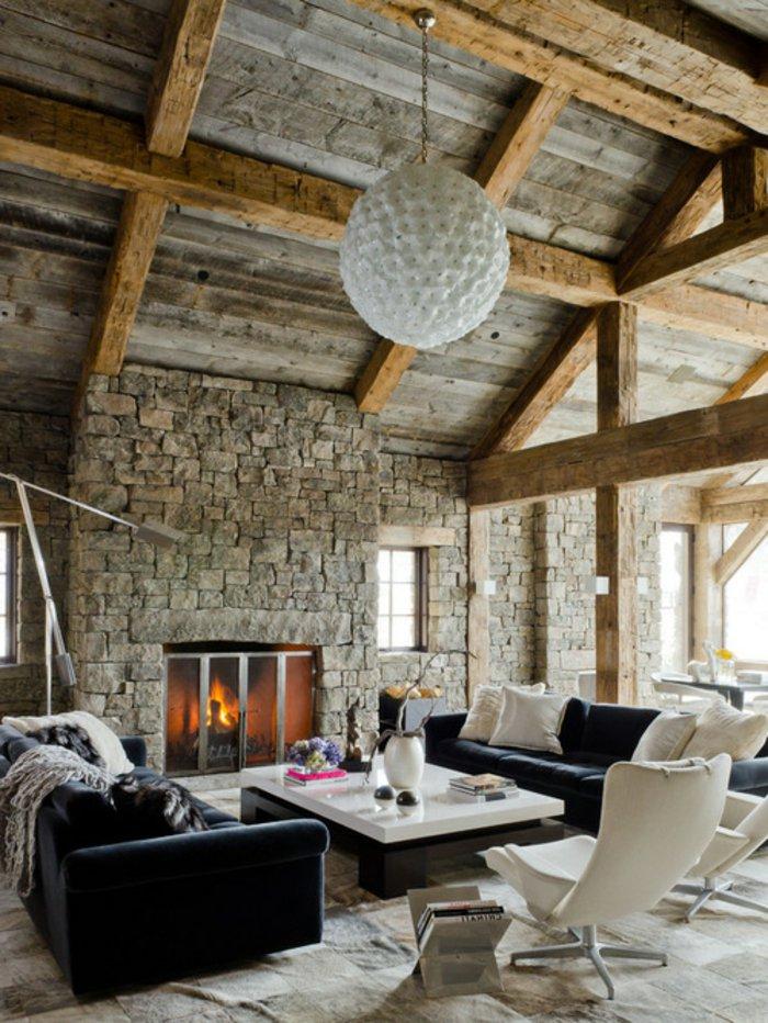 Rustic lounge ideas34