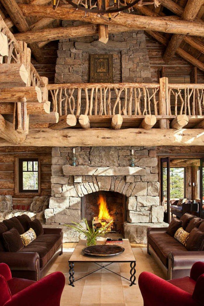 Rustic lounge ideas47