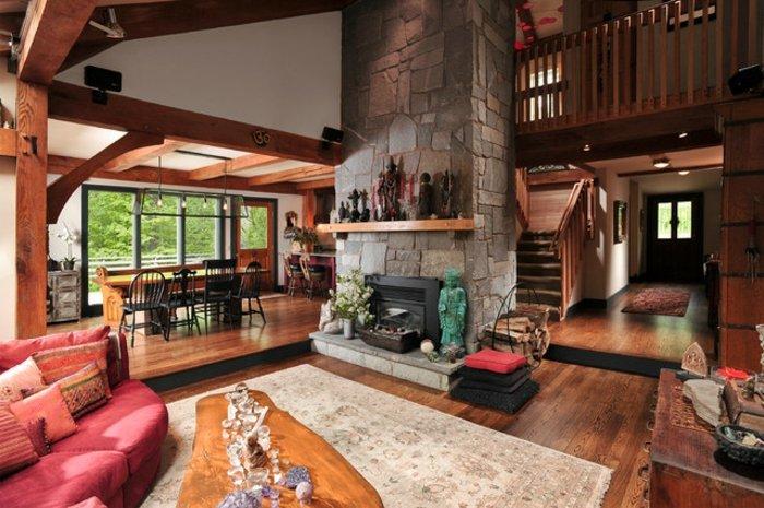 Rustic lounge ideas49