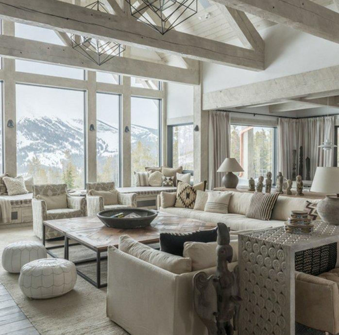 Rustic lounge ideas5