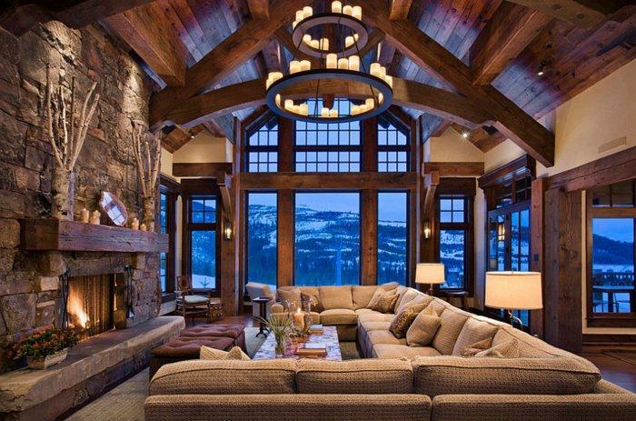 Rustic lounge ideas51