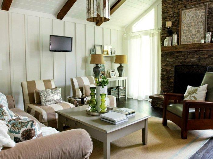 Rustic lounge ideas52