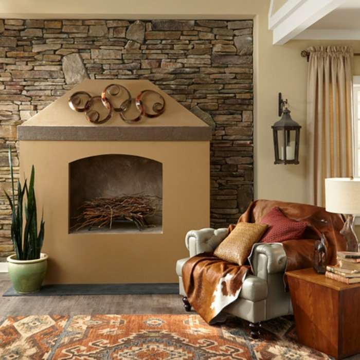 Rustic lounge ideas53