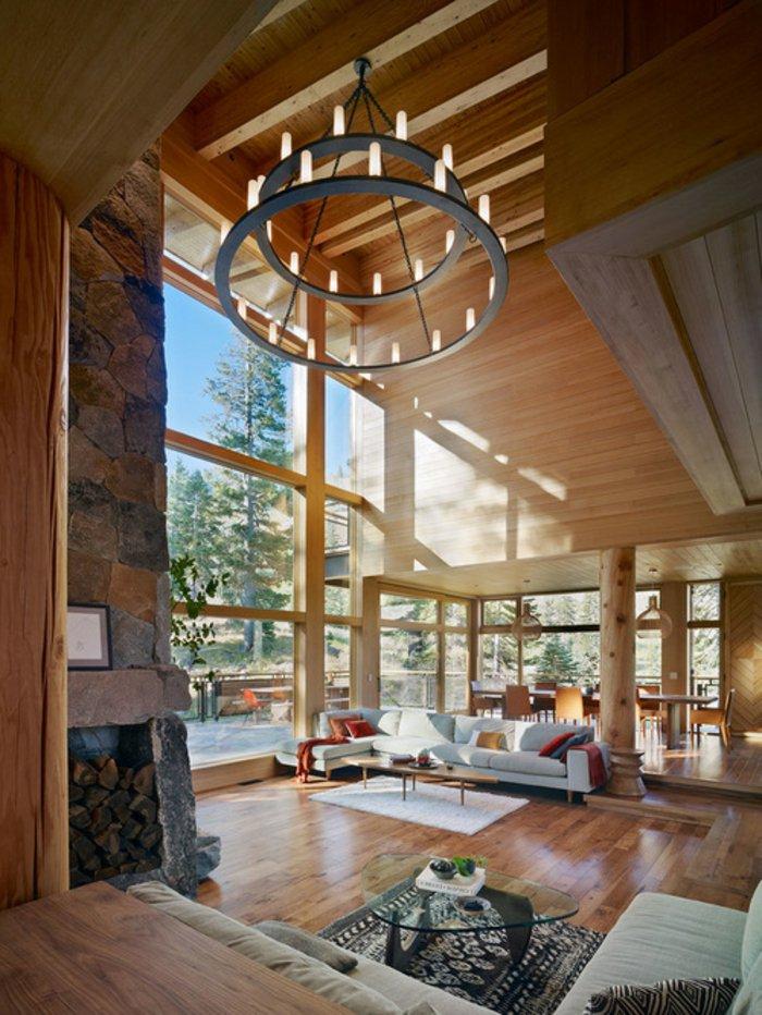 Rustic lounge ideas59