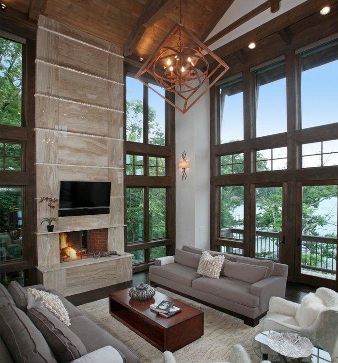 Rustic lounge ideas6