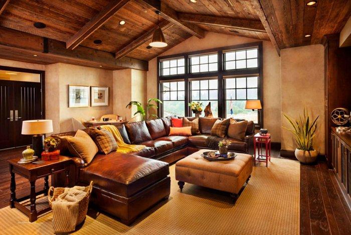 Rustic lounge ideas64