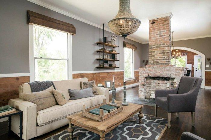 Rustic lounge ideas65
