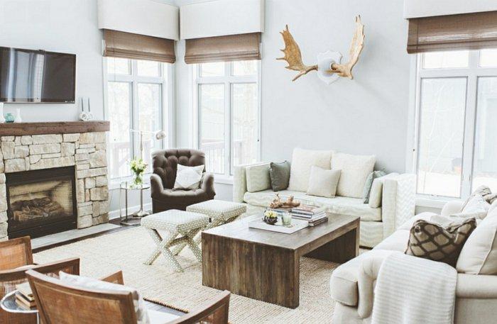 Rustic lounge ideas7