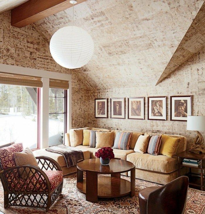 Rustic lounge ideas8