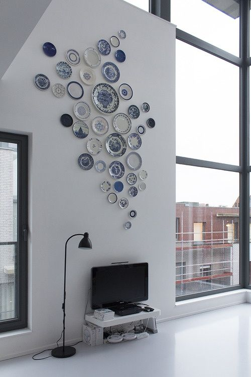 decorating walls with dishes13