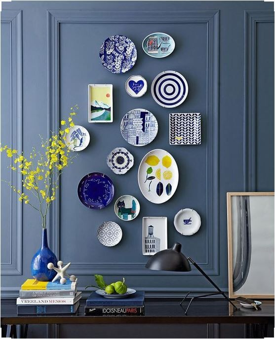 decorating walls with dishes16