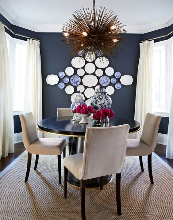 decorating walls with dishes2