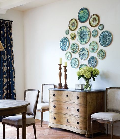 decorating walls with dishes5